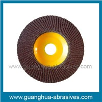 Flap Discs with Plastic Backing Pad