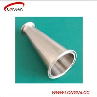 sanitary stainless steel pipe fitting concentric tri clamp reducer