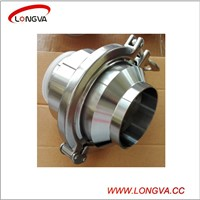 sanitary stainless steel welding check valve