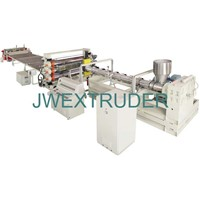 PE, PP, PS, ABS, PMMA sheet production line