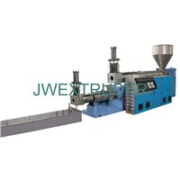 EPE. EPS Two-stage recycling granulation extrusion line