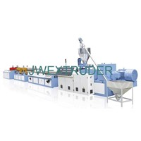 PVC door and window profile extrusion line