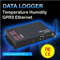 3 Pulse Channels Temperature Humidity GPRS Ethernet Data Logger
