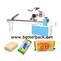 BT-320 automatic soap plastic wrapper soap plastic packaging machine