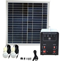 4W Solar Panel 4AH Deep Cycle AGM Battery Portable DC Solar Energy Systems for Lighting FS-S901