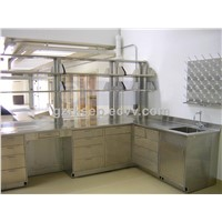 Stainless steel laboratory furniture manufacturer