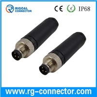 M8 male female assembly connector