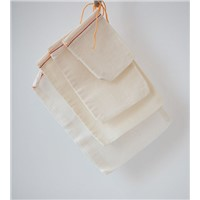100% Organic Cotton Muslin Bag\Food Packing Bag\ Cotton Pouch