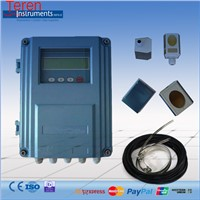 Wall mount ultrasonic water flow meter