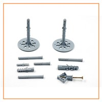 steel screw nylon anchor, wall plug