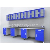 All-Steel C-Frame Laboratory Wall Bench