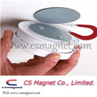 Drop Magnets Self Adhesive Wall Mount for Wireless Smoke Detector