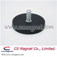 D43,D66,D88 Strong Rubber Coated Pot Magnet