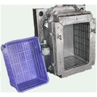 Customize plastic crate injection mould