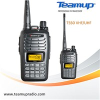 Most Popular! Teamup T550 UHF/VHF 199CH walkie talkie