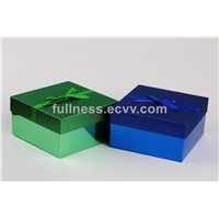 lid and base box lid and base box Cardboard gift box packaging with ribbon
