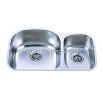"31 1/2""x 20 1/2"" x 9"" kitchen sink cupc"