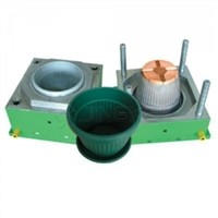 Custom oem plastic injection flower pot mould