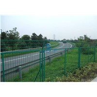Galvanized and PVC Coated Welded Wire Mesh security Fence