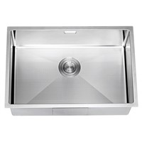 Single Basin Undermount 18-Gauge Stainless Steel Kitchen Sink