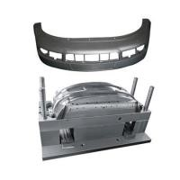 custom oem injection plastic auto bumper mould
