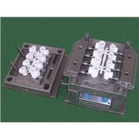 custom oem injection plastic pipe fitting mould