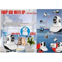 MINI robot dome ip camera wireless Support to 32G