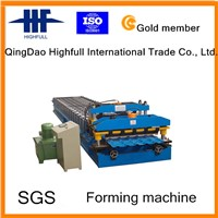 Steel Tile Roll Forming Machine, Metal Tile Roll Forming Machine