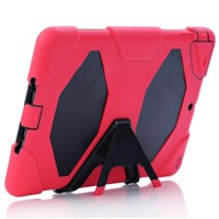 Anti Shock Hybrid Stand Cover Case for iPad Air 2 3 4 Mini for Galaxy Tab3 Tab4 Tab S  IPAD5C22