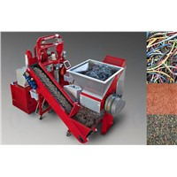 Copper wire recycling machine/copper cable granulator