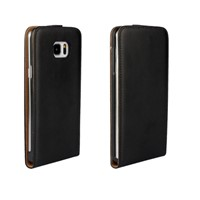 Genuine Real Leather Case Vertical Up and Down Open Flip Cover for Samsung Galaxy Note 5 SGN5C23