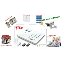 CE Approval,Wireless Professional Intelligent Home Security 3G Alarm system (WCDMA)