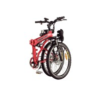 X-Treme Lithium X-Cursion Powered Foldable Electric Bicycle