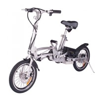 "Xtreme XB-210Li Electric Bike, LiPo4 Batteries -300 Watts Hub Motor, 16"" Wheels"