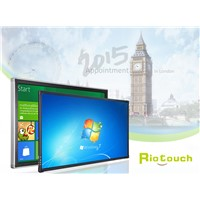 "China cheap 84"" 4K high resolution  large multi infrared  52 inch lcd touch screen monitor"