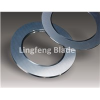 Circular cutting blade for fabric,film,and foil