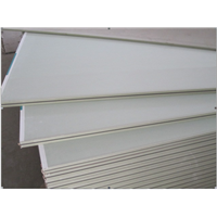 Fire-proof plasterboard