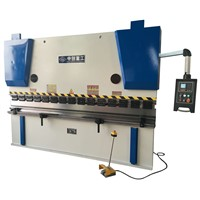 Automatic hydraulic sheet metal folding machine,metal sheet plate press brake with cheap price