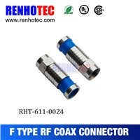 HOT SALE F TYPE CONNECTOR FOR CABLE RG6 RG11