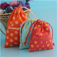 Wholesale Drawstring Cotton Jewelry Bag For Packaging