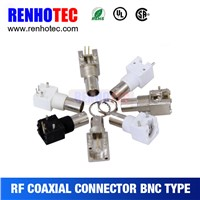 best price RF connector Right Angle BNC jack for PCB mount