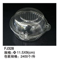 plastic round tray with lid