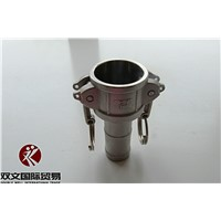 Stainless steel camlock coupling type C