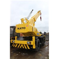 USED 25 TON KATO KR-25H ROUGH TERRAIN CRANE FOR SALE/USED KATO CRANE/USED CRANES