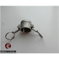 stainless steel 304/316 camlock couplings dust cap