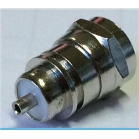 RG6 F male soldering type coaxial connector