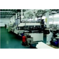PP,PC,PE Hollow Profile Plate Extrusion Line