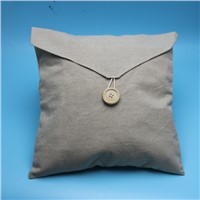 wholesale eco natural jute bag with flap and botton