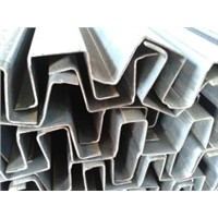 stainless outer edge C steel, outer edge C steel channel , cold bending steel sections , C channel
