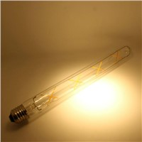 4w 6w Vintage Edison Light T30 T10 LED Filament Bulb with ETL